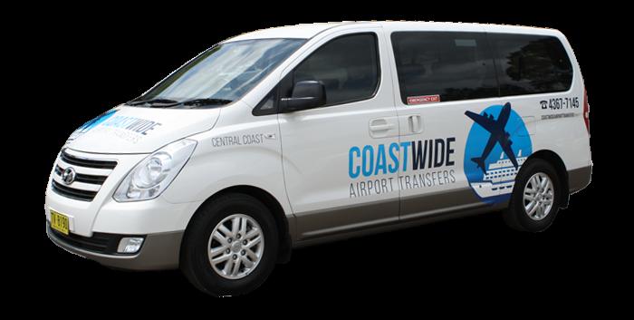 Coastwide Airport Transfers Sydney Cruise Ship Transfers, Central Station Transfers Sydney City Airport & Hotel Transport Hyundai Imax