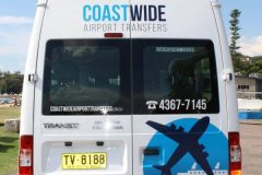 Coastwide Airport Transfers Sydney Cruise Ship Transfers, Central Station Transfers Sydney City Airport & Hotel Transport Ford Transit