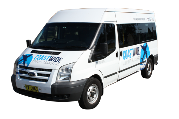 Coastwide Airport Transfers Sydney Cruise Ship Transfers, Central Station Transfers Sydney City Airport & Hotel Transport Ford Transit 2