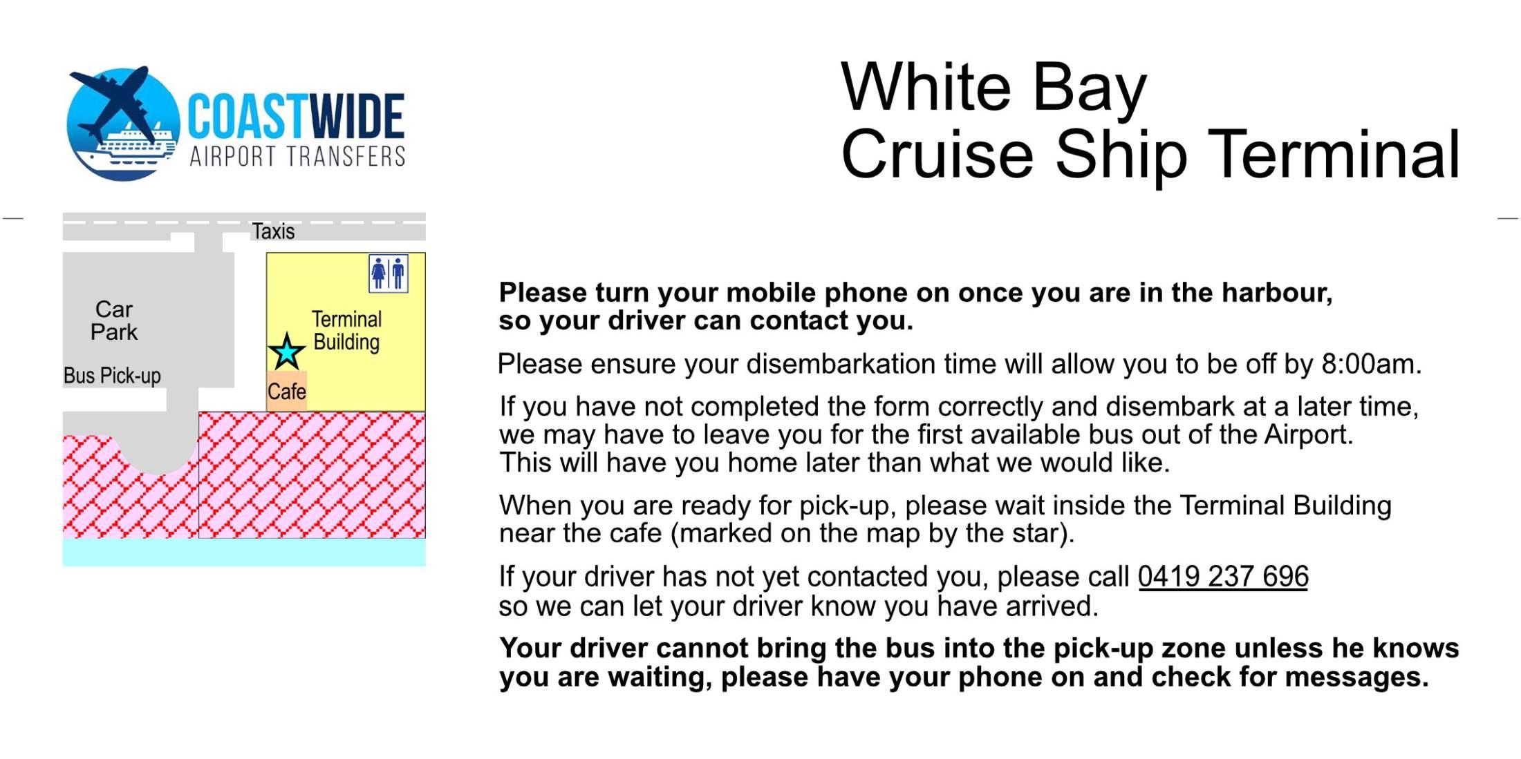 White Bay Cruise Ship Terminal